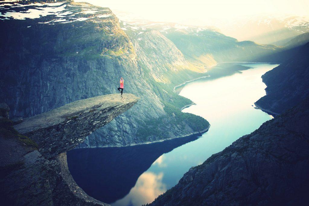 Itsensä haastaminen osana tasapainoista elämää
